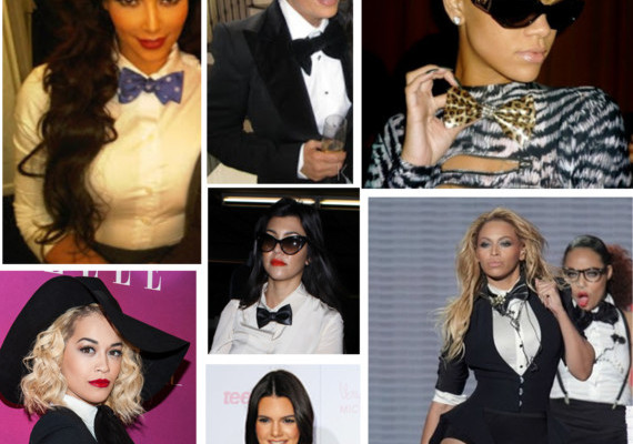Celebrity Trend: Girls Rocking Bow Ties