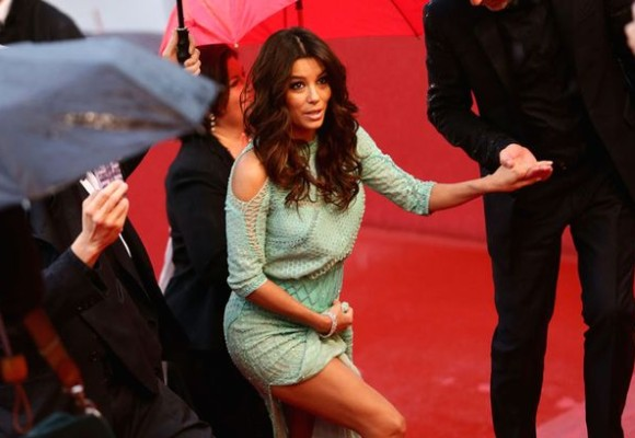 Eva Longoria's Wardrobe Malfunction: Trendy or Trashy?